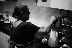 Some hot caffeine (A. adnan) Tags: tea home family bw monochrome chittagong bangladesh nani grandma caffeine realpeople leica m240 leicam240