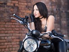 Dorina V (www.s999.co.uk) Tags: 90s studio999 s999 sanches90s studios999 jakubpyrdek portrait portraits dorina girl woman nice bike motorbike wwws999couk anna bulka street