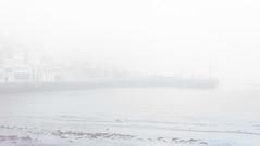 Niebla (Jaime GF) Tags: niebla mist coast sea village beach playa costa mar pueblo luanco gozón asturias spain nikon d40