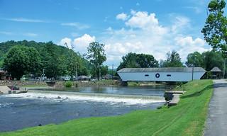 Covered Bridge, Elizabethton, Tennessee USA