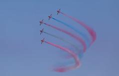 2018 Armed Forces day, Llandudno (johnrobjones) Tags: 2018 llandudno armed day forces red arrows royal air force display raf