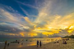 sundown (Santanu Sen) Tags: vacation island havelockisland sea andamansea beach seashore radhanagarbeach andaman india