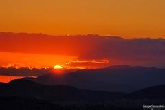athenian sunset! (George Spanoudakiss) Tags: fujifilm fuji fujix fujixt2 fujilove fujixseries fujixpassion fujiholic fujiphotos fujicamera fujinon fujimadness fujilover athens greece sky sun sunset scenery
