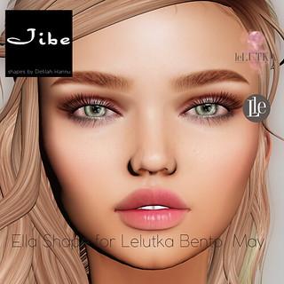 Jibe Shapes - Ella - Lelutka for May bento