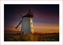 Country Living (Deek Wilson) Tags: ballycopelandwindmill windmill millisle ardspeninsula sunset countryside mill landmark northernireland field wheat landscape