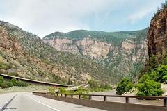 Glenwood Canyon, Colorado (StevenM_61) Tags: landscape canyon freeway interstatehighway road river mountains glenwoodsprings colorado unitedstates