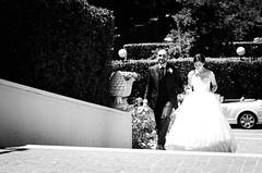 33355 - Staircase (Diego Rosato) Tags: wedding scalinata matriomonio staircase bride wife sposa moglie groom husband sposo marito bianconero blackwhite nikon d700 nikkor 85mm rawtherapee