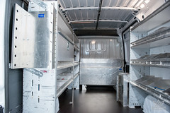 Commercial Van Interior storage racks (crownautony) Tags: commercial van interior storage racks