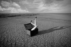 lost inside (Jordan_K) Tags: surreal art legs chest abandoned feeling bw artistic photography cinematic
