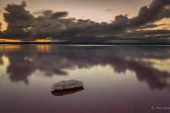 Alone (Anais Iranzo) Tags: salinas piedra cielo reflejos reflections salt stone sky larga exposición long exposure canon anais iranzo