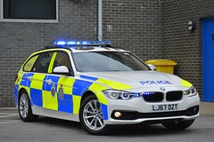LJ67 DZT (S11 AUN) Tags: durham constabulary bmw 330d 3series xdrive touring anpr police traffic car rpu roads policing unit 999 emergency vehicle lj67dzt