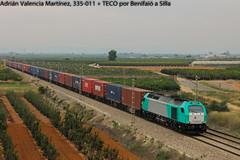 Completo (Adrián Valencia Martínez) Tags: diesel transfesa €4000 vossloh 335 teco mercancias