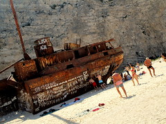 IMG_1096 (SyrianSindibad) Tags: greece zakynthos navagiobeach shipwreckbeach smugglerscove