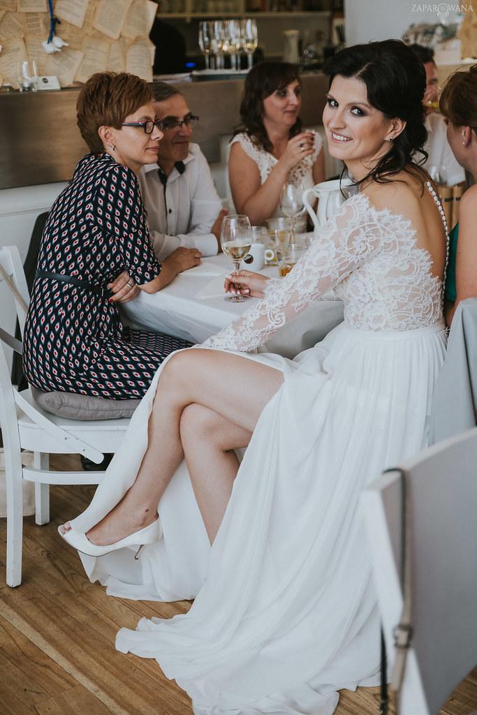 420 - ZAPAROWANA - Kameralny ślub z weselem w Bistro Warszawa