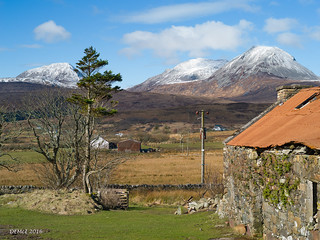 Tha Paps of Jura from Ardfarnal