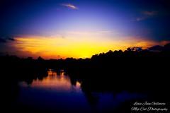 A Friday Evening Sunset (lexiegillmore) Tags: bayou