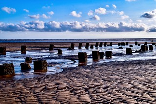 Low tide jetty
