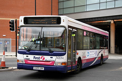 40514 S509 UAK (Cumberland Patriot) Tags: first south yorkshire mainline buses dennis dart slf plaxton pointer ii two spd super low floor 509 40514 s509uak