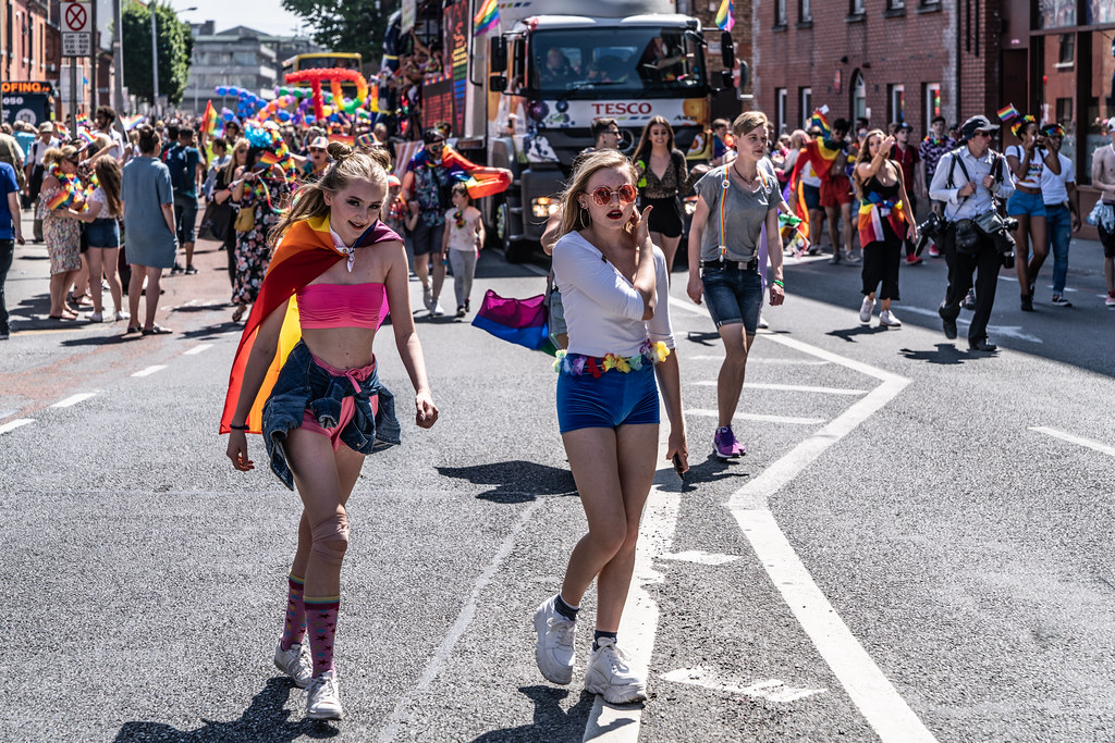 ABOUT SIXTY THOUSAND TOOK PART IN THE DUBLIN LGBTI+ PARADE TODAY[ SATURDAY 30 JUNE 2018]-141711