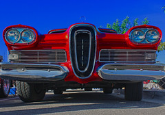 Your Joke Here (oybay©) Tags: edsel ford car automobile arizona suncitywest convertible 1959 outdoor vehicle blue red automobilia failure success