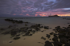 Pahonu Fish Pond, Oahu (wileyimages.com) Tags: pahonu fishpond waimanalo hawaii hawaiianislands sunrise nightphotography beach silhouette