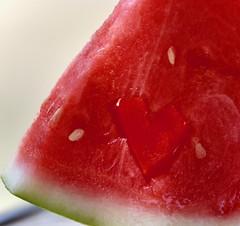 I ❤️  Watermelon - Refreshments Macro Monday (Kreative Capture) Tags: macromondays macromonday refreshments watermelon love heart seeds red texas hot juicy refreshment fruit cold nikkor nikon macro food 7dwf