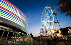 Spin (KC Mike Day) Tags: ride carnival spin wheel ferris motion