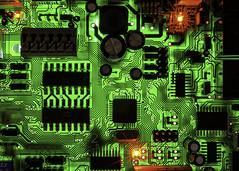 Circuit Board (Jack Heald) Tags: circuitboard hmm macro mondays macromondays backlit led heald jack nikon d750 60mm micro macromademoiselle insideelectronics