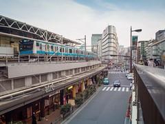 Ueno station (AMcUK) Tags: taitōku tōkyōto japan jp em10 omdem10 omdem10mkii em10mkii omd olympus olympusuk m43 micro43rds micro43 microfourthirds nippon tokyo ueno station railway railroad subway train