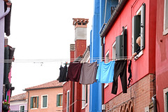 Laundry (MelindaChan ^..^) Tags: venice italy 意大利 威尼斯 laundry wash clothes life house village color colorful chanmelmel mel melinda melindachan clean hang sundried burano