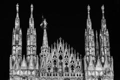 Duomo, Milan (www.alexandremalta.com) Tags: alexandremalta temple religion italy blackandwhite cathedral catholic duomo milan