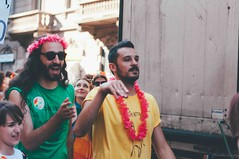 guys | milano pride 2018 (Nicole Favero 游婉情) Tags: verde milano pride love amazing mine cute cool forever loveislove month done gay okay lesbian bisex bisexuality sexuality parade followme guys milan wow fashion rainbow family nikon nikond5000 camera reflex photography photo peace pace flags walk pirate