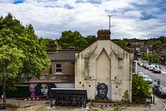 Wall Art, Abbey Wood (London Less Travelled) Tags: uk unitedkingdom england britain london southlondon woolwich street streetart graffiti city urban abbeywood