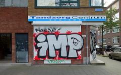 IMP (oerendhard1) Tags: graffiti streetart urban art rotterdam oerendhard vandalism illegal imp