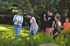 Golf Party (Bury Gardener) Tags: streetphotography streetcandids street snaps strangers people peoplewatching folks 2018 nikond7200 nikon keswick england cumbria uk britain