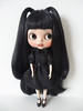 Hush² (Mask and Dolls) Tags: blythe custom ooak doll rbl sad girl dark gothic cute childish romantic heart expression hidden