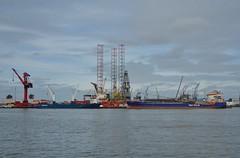 Mammoetkade Schiedam (Hugo Sluimer) Tags: portofrotterdam port rotterdam zuidholland nederland holland haven nlrtm onzehaven