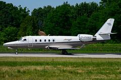 C-FHNS (Jetport) (Steelhead 2010) Tags: yhm creg cfhbs g100 gulfstream bizjet iai jetport