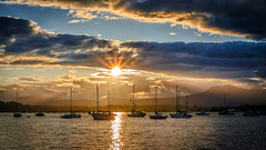 Cloudy Sunset (Paul Rioux) Tags: outdoors evening sunset dusk cowichan bay marine sail boats vessels clouds prioux