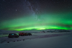 Green in the Sky (Perez Alonso Photography) Tags: northernlights snow jökulsárlón iceland islandia night nightscape