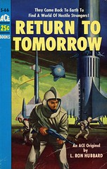 Ace Books S-66 - L. Ron Hubbard - Return to Tomorrow (swallace99) Tags: acebooks vintage 50s sciencefiction sf scifi paperback edvaligursky