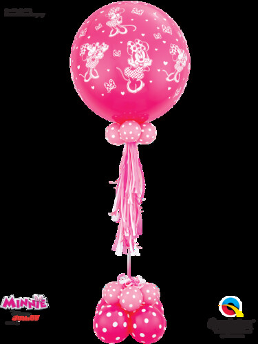 Disney Minnie Mouse Pink Centerpiece