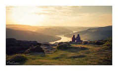 Together (Mark Crawshaw) Tags: ladybower leefilters derbyshire canon1dx peakdistrict bamfordedge sunset