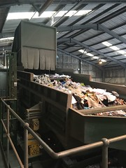 MRF sorting (eunomia_randc) Tags: recycling plant plastics cardboard sorting facility mrf