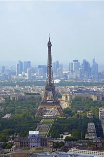 2018.05.20.022 PARIS - Tour Montparnasse - La Tour Eiffel et le Trocadéro