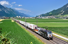 MRCE/ÖBB 193 876 Schwaz (tobias.unsin) Tags: train zug güterzug alps austria railway rail railroad öbb locomotive lok logistik landschaft mountain mrce vectron