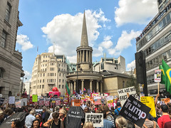 London Calling (marktmcn) Tags: london calling bbc broadcasting house portland place all souls langham together against trump visit mass protest july 2018