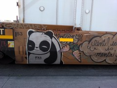 Panda with carrots (Chilly SavageMelon) Tags: austell ga