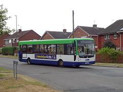 Notts&Derby 795 Kirk Hallam (Guy Arab UF) Tags: nottsampderby 795 yj56kao vdl sb120 plaxton centro bus godfrey drive kirk hallam derbyshire wellglade buses wellgladegroup tm travel 1179