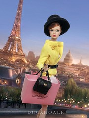 Paris is Always a good Idea (duckhoa_le) Tags: poppy parker doll fashion royalty integrity toys toy w club tres chic boutique paris shopping ginger red head hair world her feet lilac frost yellow photography travel bon france new york golden holiday art portrait audrey hepburn quote duc khoa le screening beautiful woman girl pretty